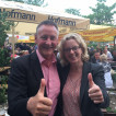Natascha Kohnen,Vorsitzende der BayernSPD und Dr. Thomas Jung, Vorsitzender der SGK Bayern und Oberbürgermeister der Stadt Fürth
