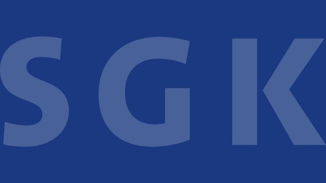 Schriftzug der SGK